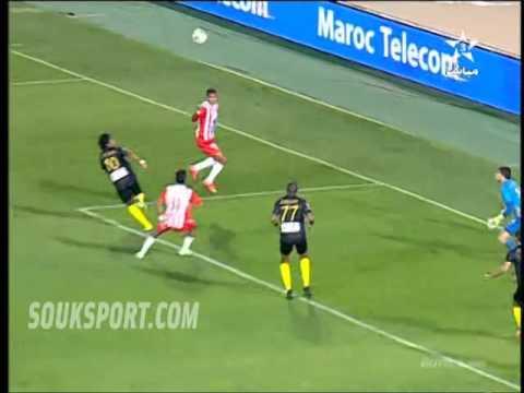 حسنية أكادير  المغرب الفاسي: 2-2