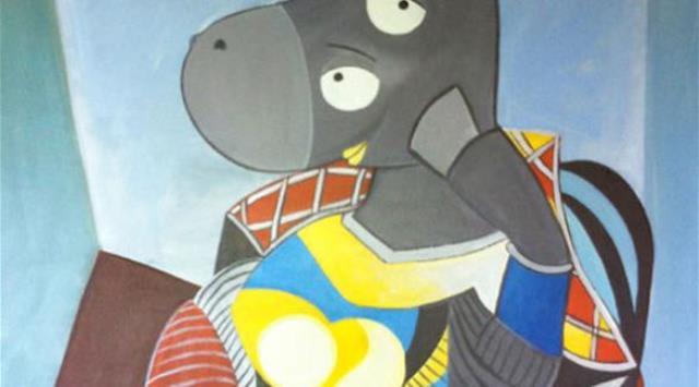 بالصور: كيف تبدو اللوحات الشهيرة لو رُسمت للأطفال