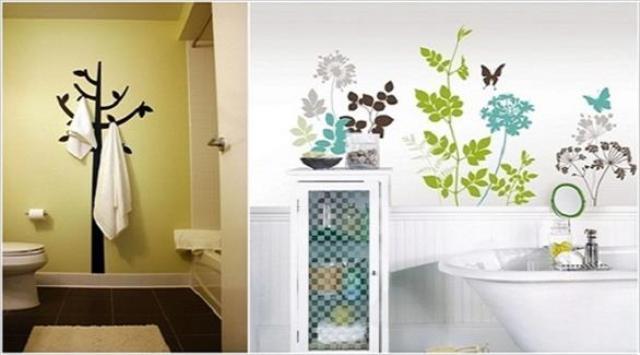 بالصور: 12 فكرة مميزة لديكور جدران الحمامات