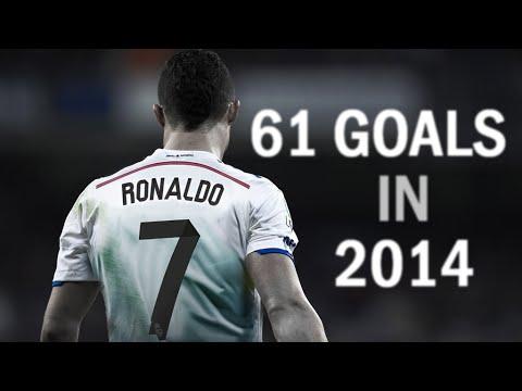 جميع اهداف رونالدو في 2014