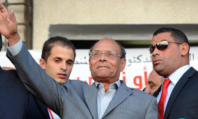 بعد فشله في الانتخابات المرزوقي يعلن عن تأسيس حركة شعب المواطنين