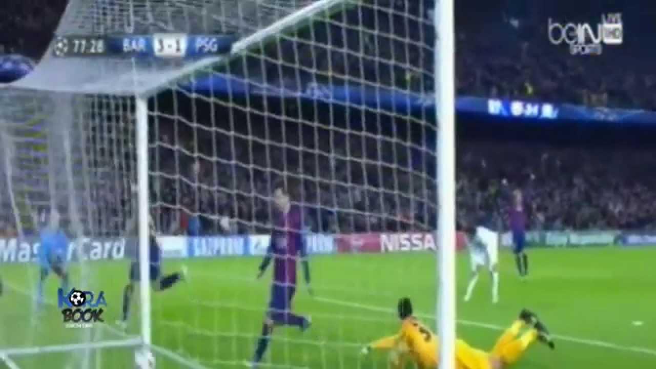 برشلونة وباريس سان جيرمان 3-1