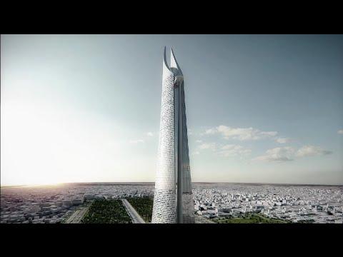 """برج """"الملك محمد السادس"""" العملاق بمنطقة القطب المالي لـ أنفا"""