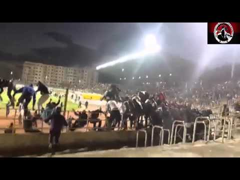 شغب في مباراة مولودية بجاية و اتحاد العاصمة