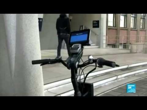 هولندا تطلق دراجة هوائية ذكية