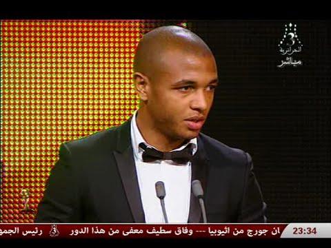 براهيمي يتوج بالكرة الذهبية الجزائرية