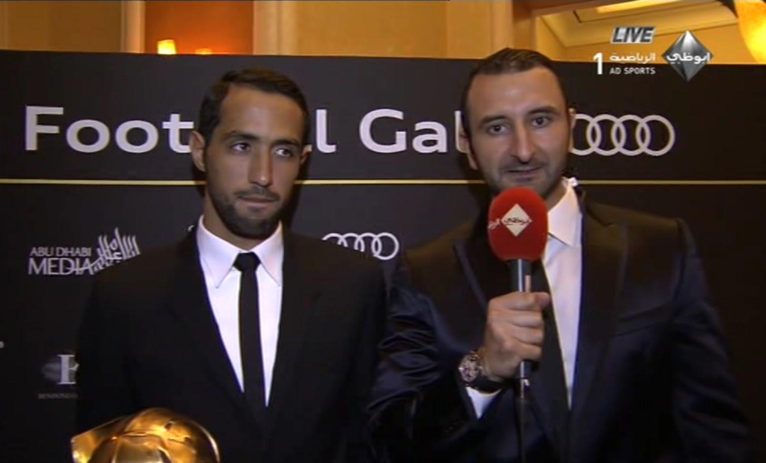 تصريح بنعطية أفضل لاعب عربي
