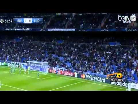 ريال مدريد ولودوجوريتس 4-0