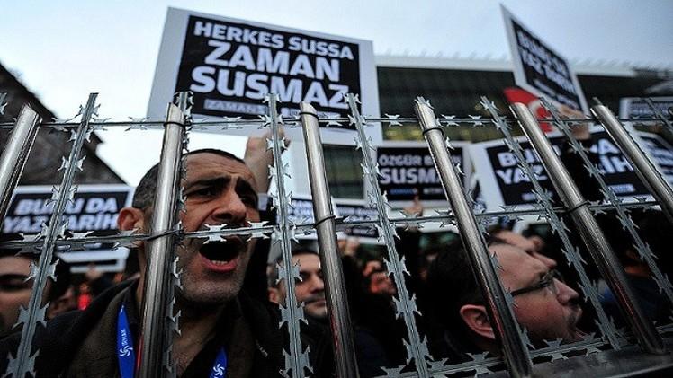 واشنطن والإتحاد الأوروبي يدينان حملة اعتقالات الصحفيين في تركيا