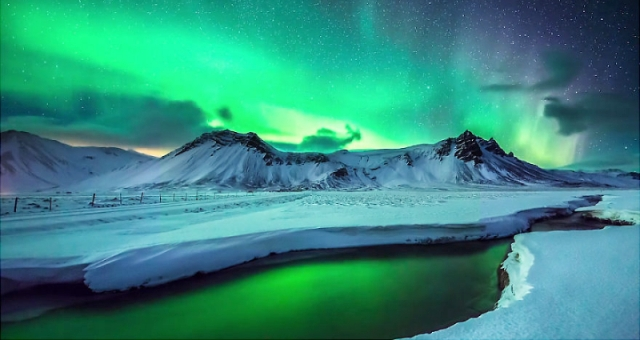 بالفيديو..«ملحمة الشفق القطبي».. ظاهرة طبيعية رائعة