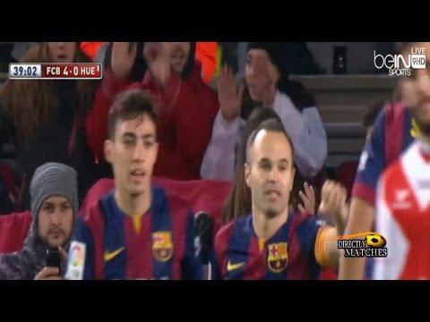 برشلونة وهويسكا 8-1