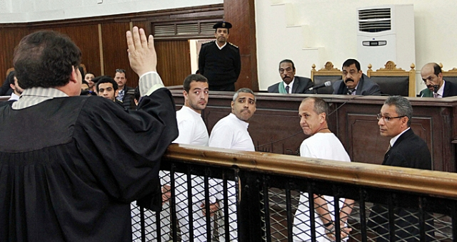 مرور سنة على حبس صحفيي الجزيرة بمصر
