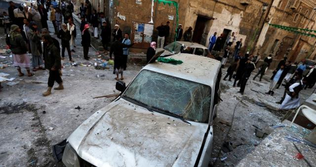 5 انفجارات بالعاصمة اليمنية صنعاء