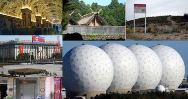 أكثر 7 أماكن سرية على وجه الأرض
