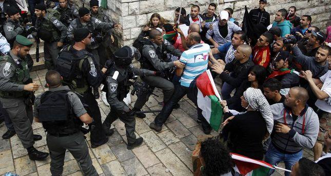 مواجهات بالضفة الغربية بين فلسطينيين وجيش الاحتلال