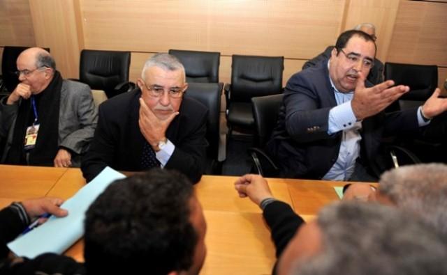 لشكر يهاجم عبد الواحد الراضي ومحمد لخصاصي ويرفض تقديم تنازلات