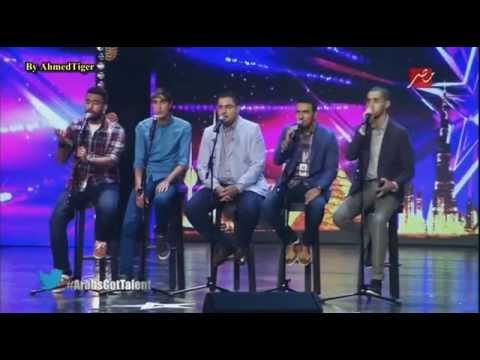 Arabs Got Talent..فرقة مغربية تبهر بغناءها لفلسطين