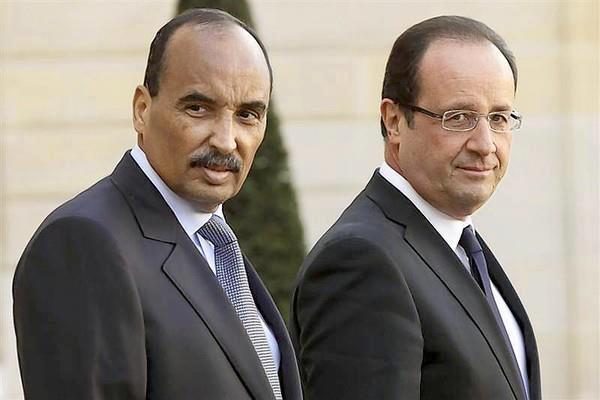 ولد عبد العزيز يمدح فرنسا ويبرر تدخلها العسكري في افريقيا