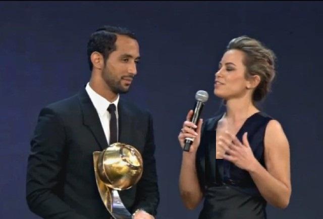 بنعطية أفضل لاعب عربي في 2014