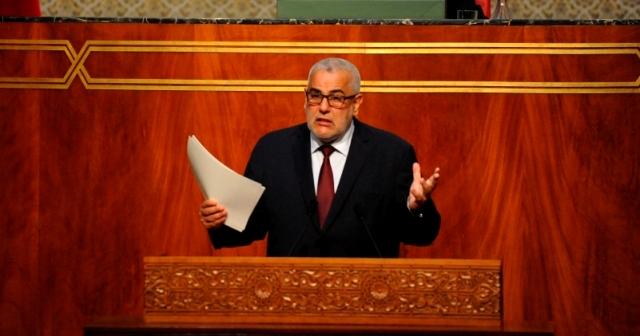 بنكيران يستغل مروره في البرلمان للرد على انتقادات المعارضة لأداء حكومته
