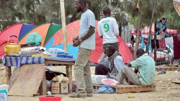 ترحيل أول دفعة من الرعايا النيجيريين من العاصمة  الجزائر نحو تمنراست