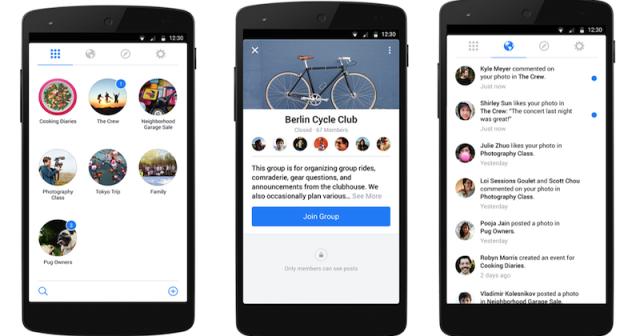 «فيس بوك» يختبر طريقة لبيع الممتلكات الخاصة بالمجموعات