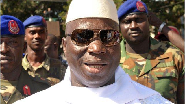 الرئيس الغامبي يتهم السنغال بدعم الانقلاب