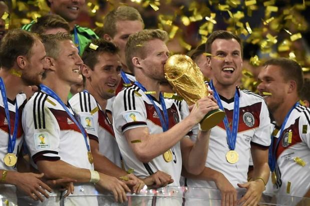 منتخب ألمانيا في صدارة التصنيف النهائي للفيفا لعام 2014