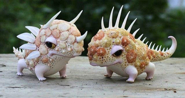 بالصور: مخلوقات ملونة من عالم الجنيات