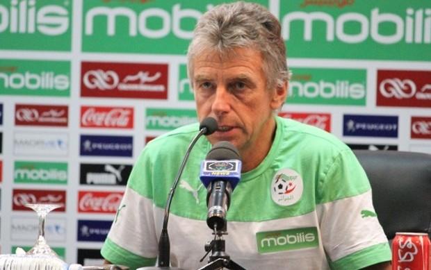 مدرب الجزائر : القرعة أوقعتنا أمام منتخبات قوية