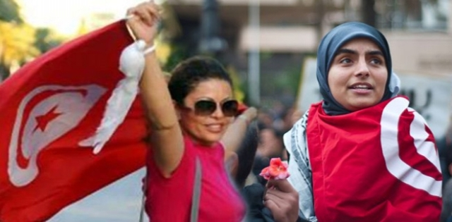 أكثر من 50% من التونسيات أدلين بأصواتهن فى الانتخابات