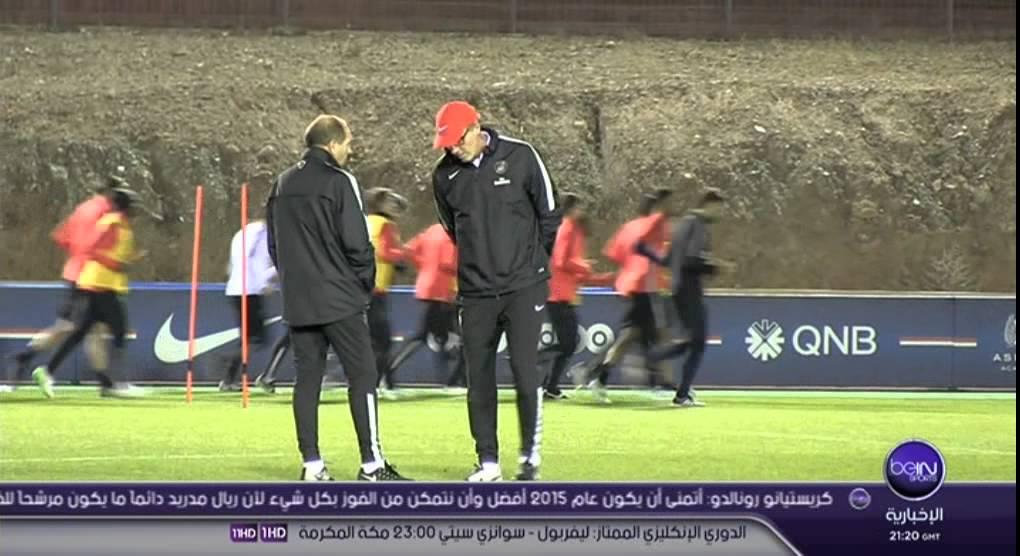 حصة تدريبية لـ PSG بملعب مراكش