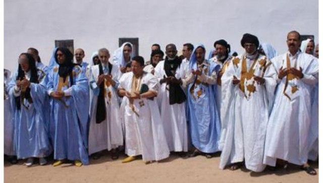 صحراويون يبايعون العاهل المغربي على مشارف الجدار الأمني