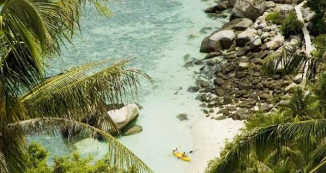 خليج تايلاند.. جنة بحرية خلاّبة