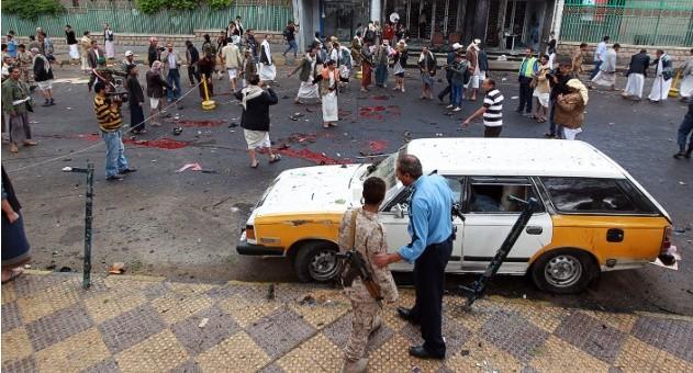 اليمن: 33 قتيلا من الحوثيين في انفجار بإب