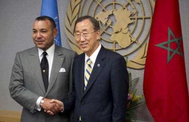 بان كي مون يؤكد للعاهل المغربي حيادية وموضوعية ونزاهة الأمم المتحدة في قضية الصحراء