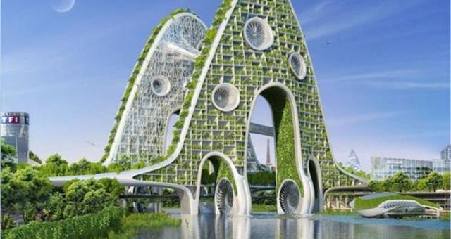 بالصور: شاهد كيف ستبدو باريس عام 2050