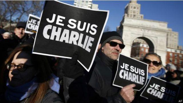 الوفد المغربي لم يشارك في مسيرة باريس بسبب رفع رسوم كاريكاتورية مسيئة للرسول