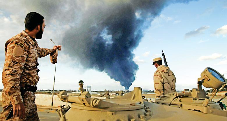 الجيش الليبي يعلن وقف إطلاق النار و الأمم المتحدة ترحب