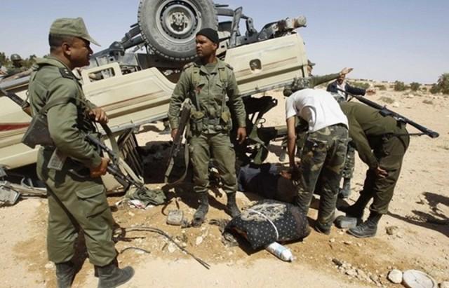 تونس:انقلاب شاحنة عسكرية بقابس وإصابة 11 جندي