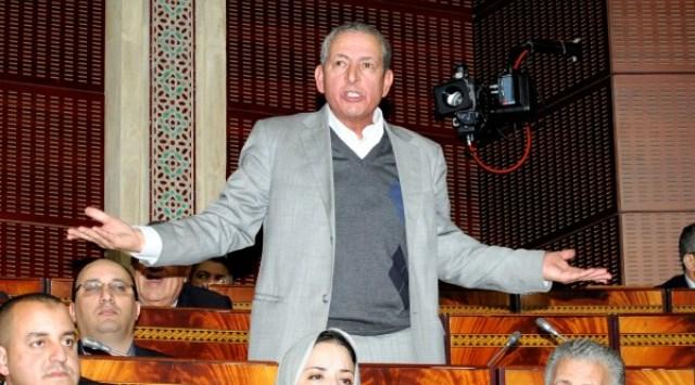 عبد الهادي خيرات يشكو إدريس لشكر لرئيس مجلس النواب
