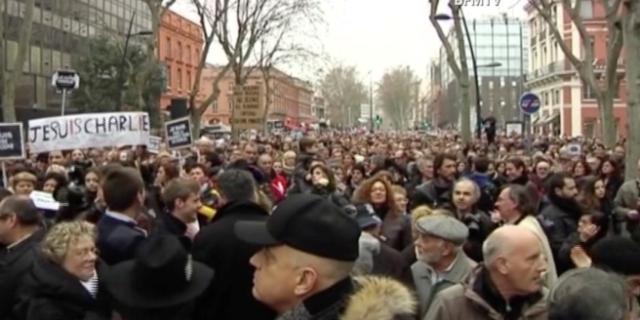 باريس تحتضن مسيرة التضامن مع ضحايا الهجمات الإرهابية