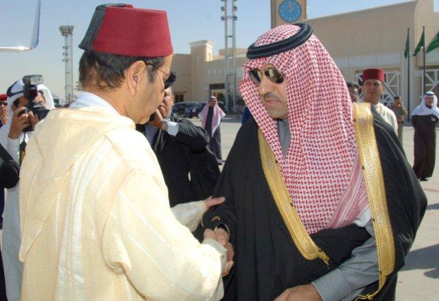 الأمير مولاي رشيد يقدم تعازي العاهل المغربي لخادم الحرمين الشريفين في وفاة الملك عبد الله