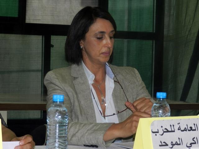 نبيلة منيب تؤكد مشاركة حزبها في الاستحقاقات الانتخابية المقبلة بالمغرب لسنة 2015