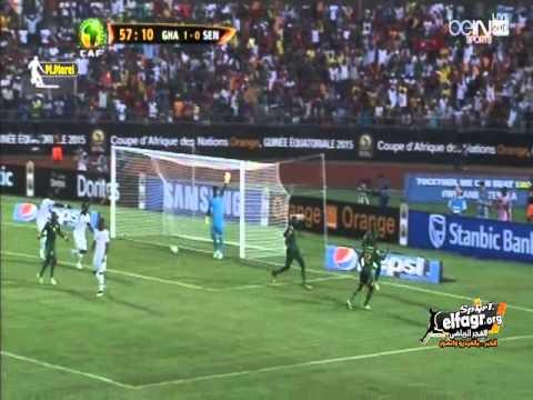 غانا- السنغال : 1- 2