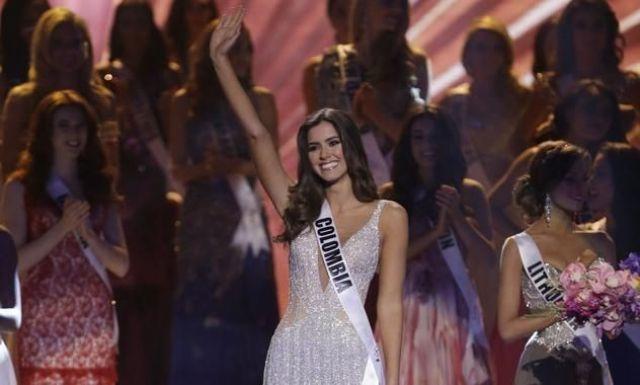 بالصور: كولومبية تفوز بلقب ملكة جمال الكون