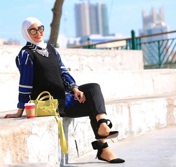 بالصور: أجمل الإطلالات الشتوية بالحجاب