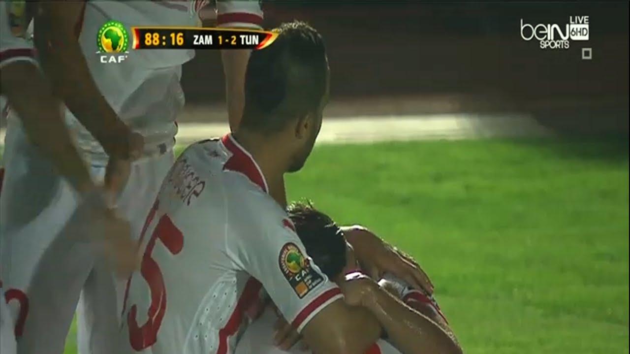 تونس وزامبيا 2-1