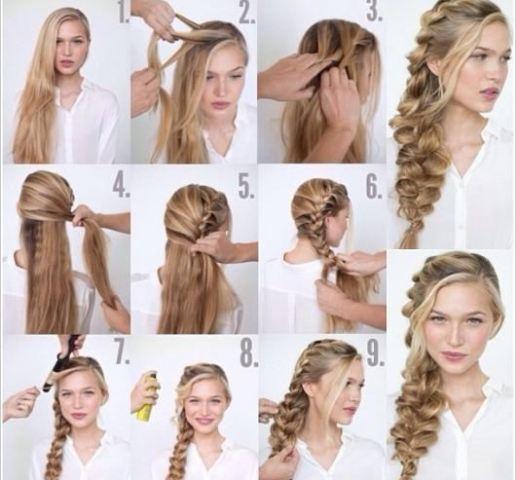 كيف تنفذين تسريحة الشعر الرومانسية بالخطوات