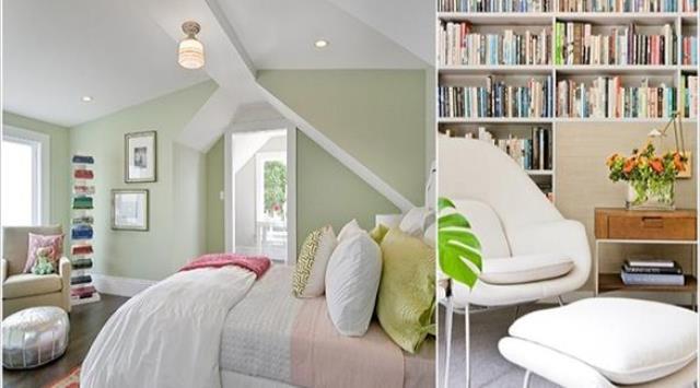 بالصور: 10 أفكار مميزة لمكتبة أنيقة داخل غرفة النوم